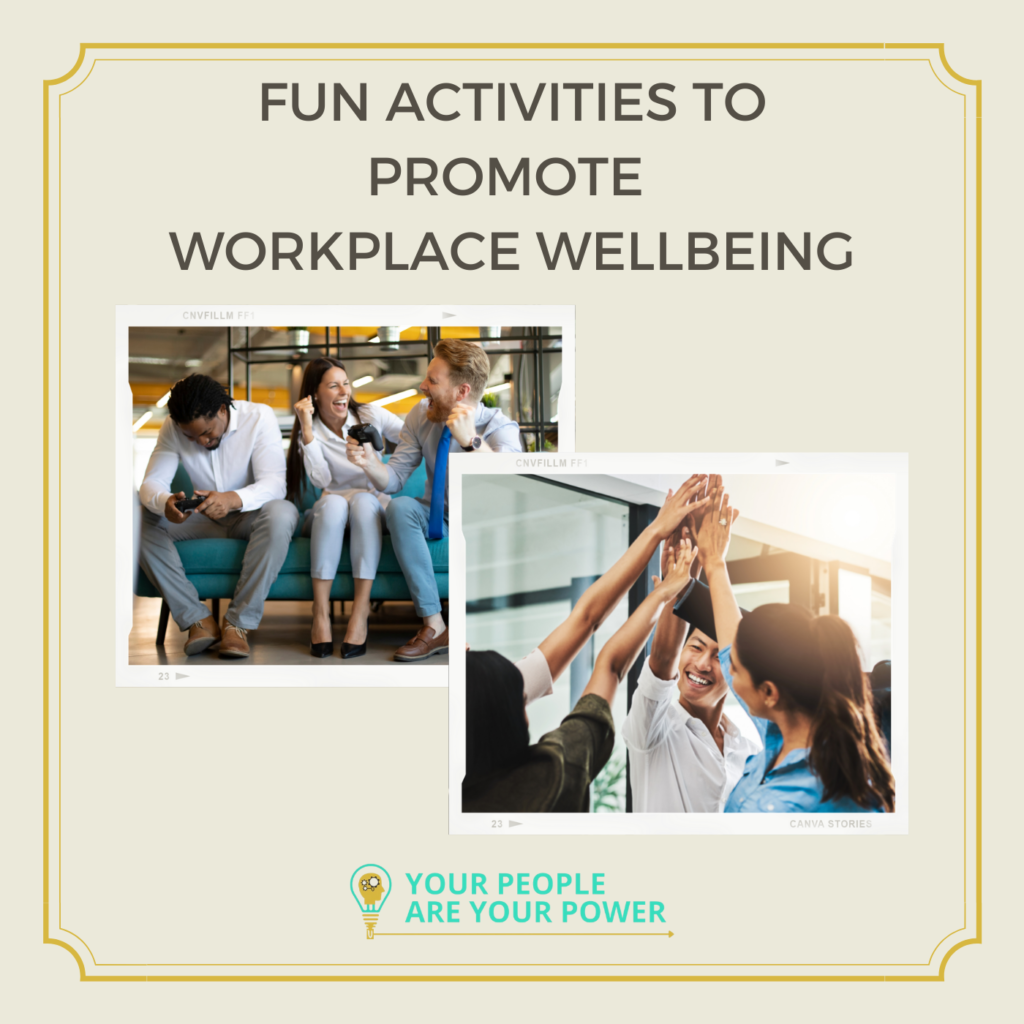 Fun activities to promote workplace wellbeing